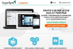 Libero e SugarSync presentano un innovativo servizio di Cloud storage integrato in Libero mail