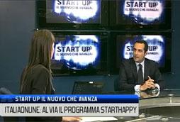 Gabriele Mirra presenta Starthappy su Class CNBC tv