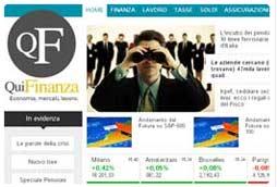 Italiaonline presenta il nuovo portale QuiFinanza