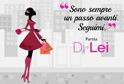 La campagna pubblicitaria per Di•Lei su Corriere.it