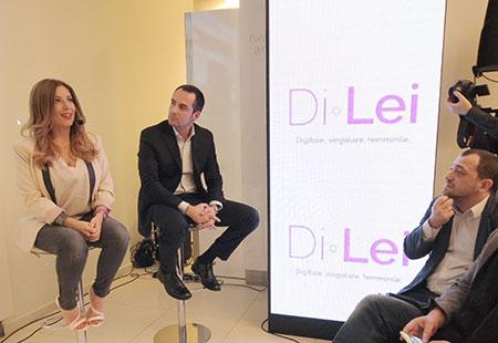 DiLei cambia volto: la presentazione evento di Milano