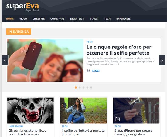 superEva, nasce una nuova editoria online