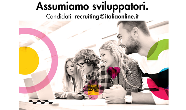 ITALIAONLINE ASSUME SVILUPPATORI JAVA E SQL