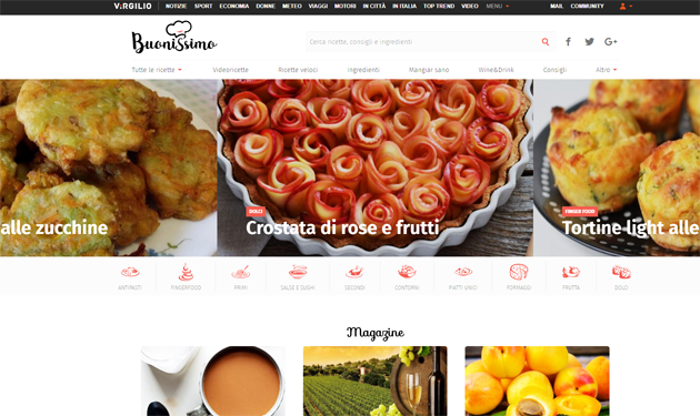 Food: Italiaonline launches Buonissimo