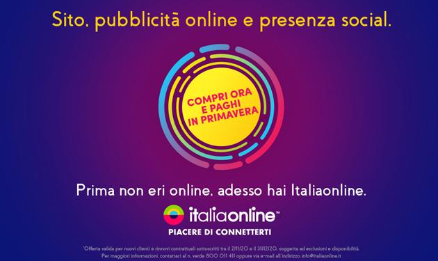 Nuova campagna tv, radio, digital e out of home per Italiaonline