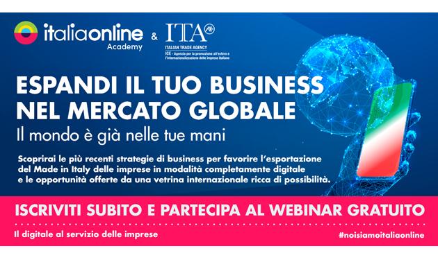 Accordo di collaborazione tra Italionline e Agenzia ICE sulle strategie promozionali dell'export digitale