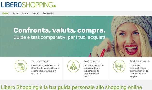 Italiaonline presents Libero Shopping