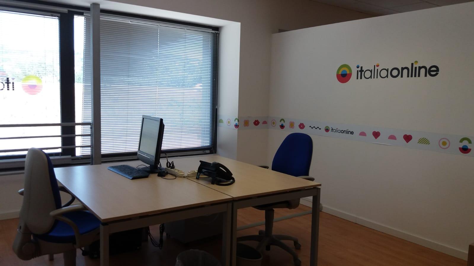 Web Agency Italiaonline Perugia interni ufficio