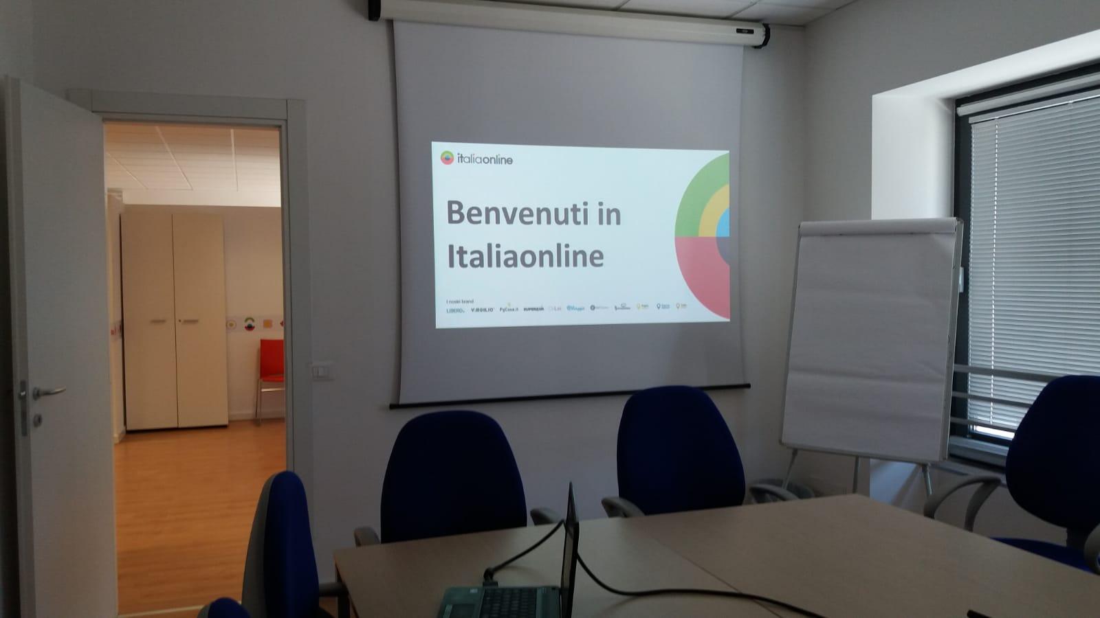 Web Agency Italiaonline Perugia sala riunioni