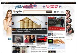 È online la nuova Home Page di Virgilio.it