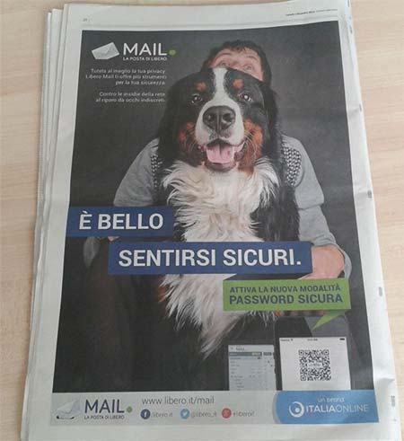 È bello sentirsi sicuri: la nuova campagna media di Italiaonline