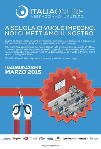 Le aule informatiche donate da Italiaonline in arrivo a marzo