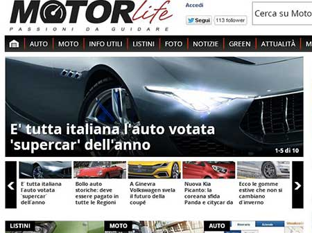MOTORLIFE, FIRST MOTOR PORTAL FOR MONTHLY AND DAILY USERS