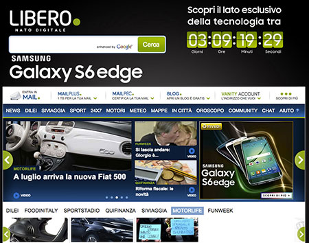 LA CAMPAGNA DIGITALE SPECIALE PER SAMSUNG GALAXY S6 EDGE