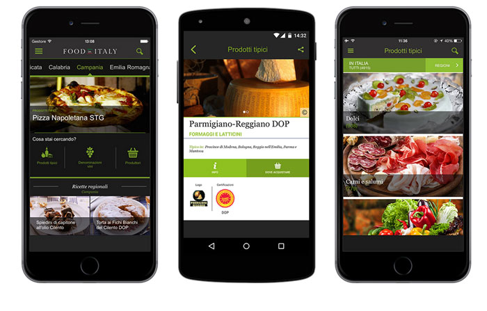 THE FOODINITALY APP: QUALITY FOOD IN THE DIGITAL STORES
