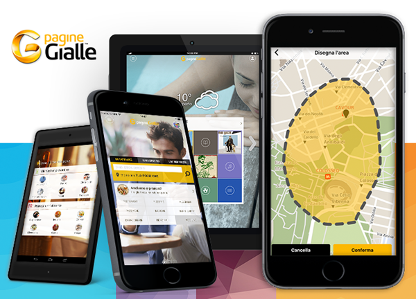 La nuova app PagineGialle: preventivi, disegni 3D, prenotazioni, tutto con un tap