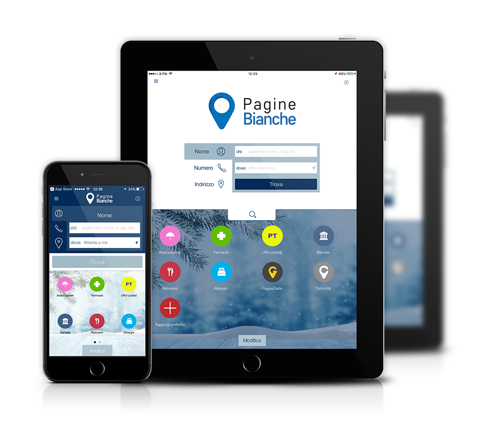App Pagine Gialle