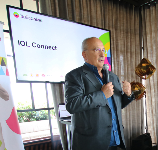 ITALIAONLINE LAUNCHES IOL CONNECT TO BE ALWAYS FOUND ON THE INTERNET