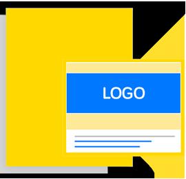 Pubblicità su PagineGialle - Insegna con logo