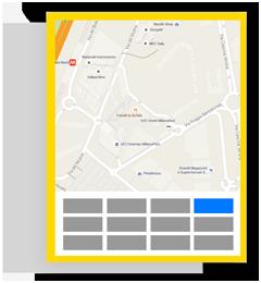 Pubblicità su PagineGialle - Insegna su mappa