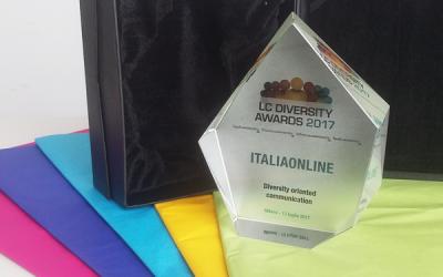 DIVERSITY AWARDS 2017, ITALIAONLINE AWARD WINNING