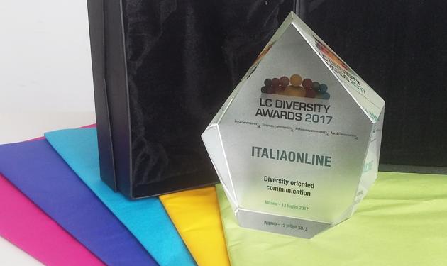 ITALIAONLINE PREMIATA AI DIVERSITY AWARDS 2017