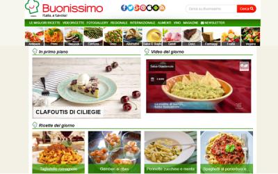 ITALIAONLINE ACQUISISCE IL FOOD PORTAL BUONISSIMO