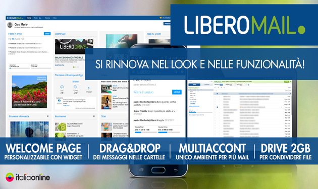 LIBERO MAIL: THE SAFEST EMAIL IN ITALY