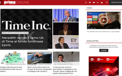 Italiaonline digital partner of Primaonline.it