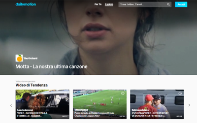 Italiaonline concessionaria di Dailymotion in esclusiva per l'Italia