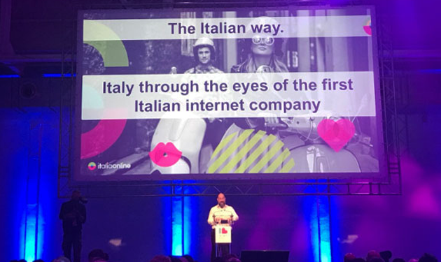 """The Italian way"": Italiaonline con Andrea Chiapponi a IAB Interact 2018"