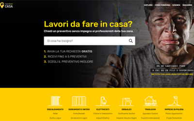 Pagine Gialle digital marketplace leader with pgcasa.it