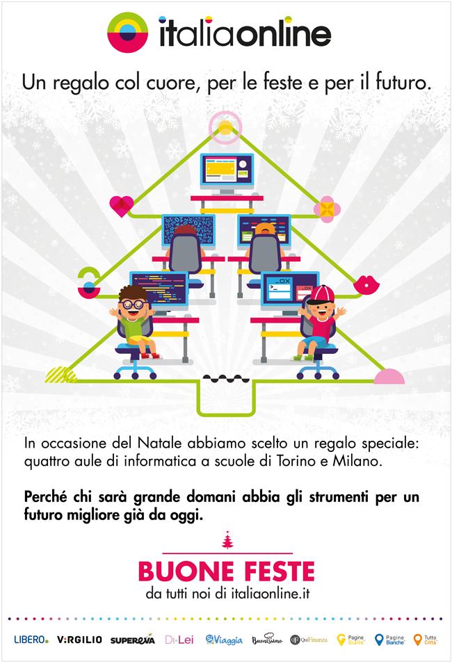 Italiaonline - Donazione aule informatiche