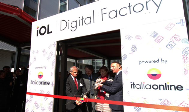 Italiaonline, ceremony for the Digital Factory