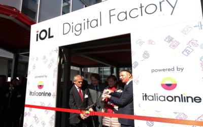 Italiaonline, taglio del nastro per la Digital Factory